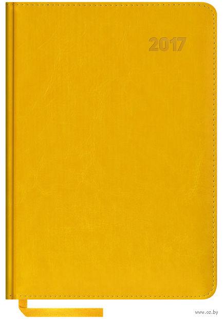 """Ежедневник датированный """"Sarif"""", 2017 (А5; 176 листов; желтый)"""