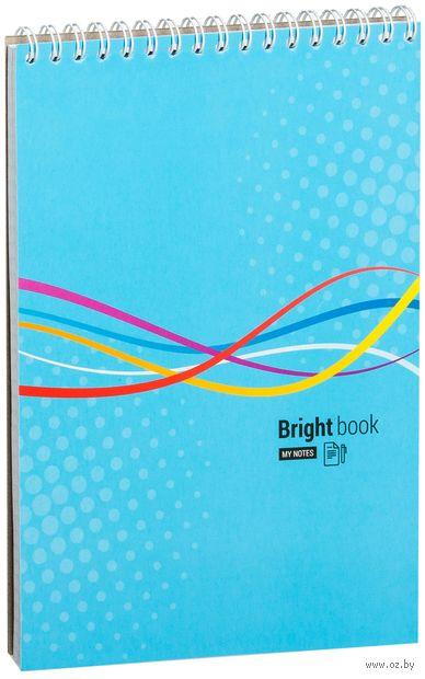 """Блокнот на спирали """"Моноколор. Bright Book"""" А5 (80 листов)"""