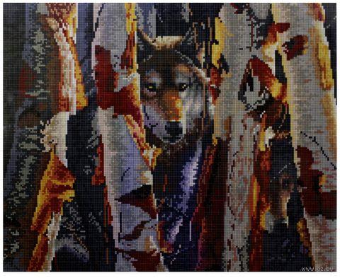 """Алмазная вышивка-мозаика """"Волк"""""""