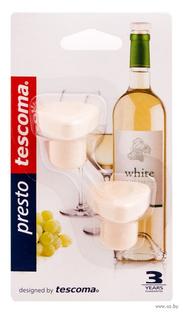 """Пробка для вина """"Presto"""" (2 шт.) — фото, картинка"""