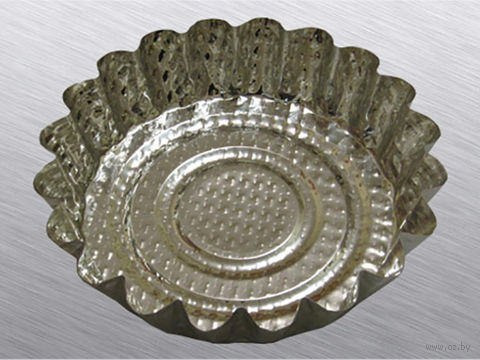 Форма для выпекания металлическая (103 мм) — фото, картинка