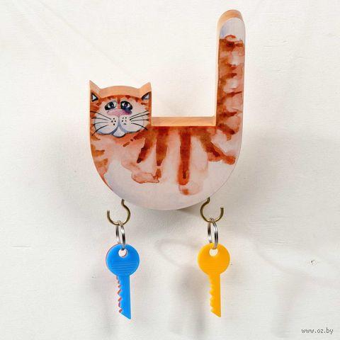 """Ключница """"Кот"""" — фото, картинка"""