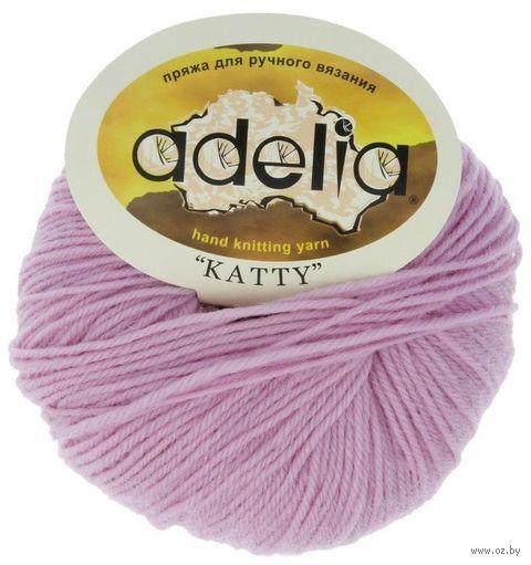 """Пряжа """"Adelia. Katty №5"""" (50 г; 150 м; бледно-розовая) — фото, картинка"""