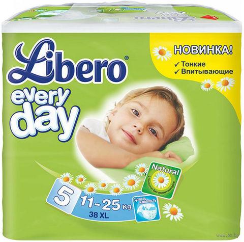"""Подгузники для детей Libero Everyday """"Extra large XL 5"""" (11-25 кг.; 38 шт)"""