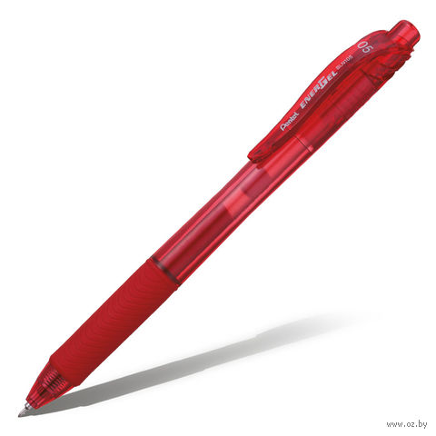 """Ручка-роллер автоматическая """"EnerGel-X BLN105"""" (красная)"""
