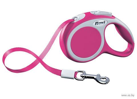 """Поводок-рулетка для собак """"Vario"""" (размер XS; до 12 кг; розовый)"""