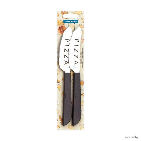 """Набор ножей металлических с пластмассовыми ручками """"PIZZA"""" (2 шт.; 21,2/10 см; арт. 25040204)"""