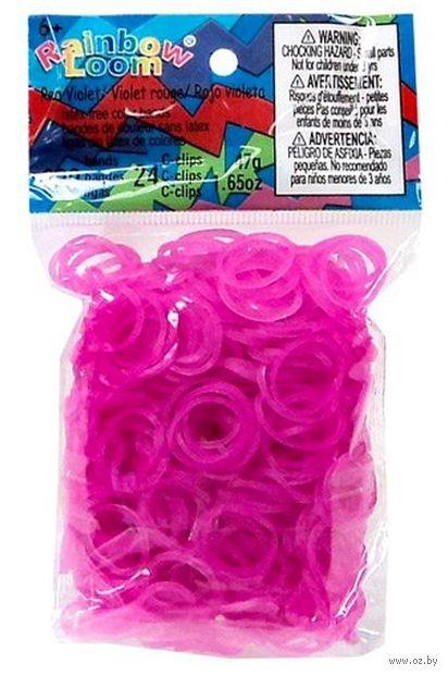 """Набор резиночек для плетения """"Rainbow Loom. Красно-фиолетовый"""""""