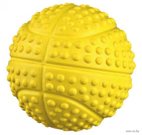 """Игрушка для собак с пищалкой """"Мяч"""" (7 см) — фото, картинка"""