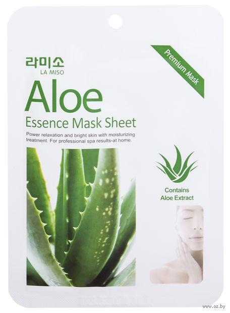 """Тканевая маска для лица """"С экстрактом алоэ"""" (21 г) — фото, картинка"""