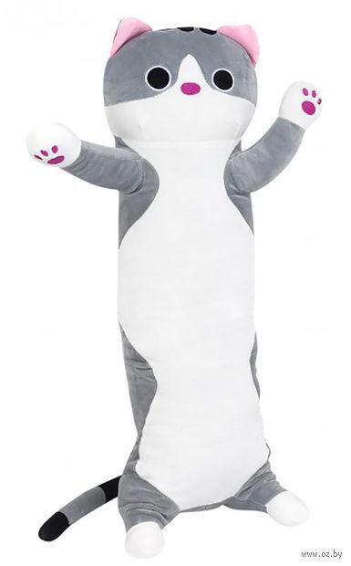 """Мягкая игрушка """"Длинный кот"""" (65 см; серая) — фото, картинка"""