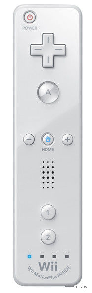 Игровой контроллер для Wii U Plus белый