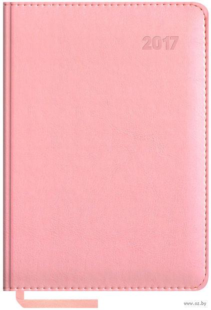 """Ежедневник датированный """"Sarif"""", 2017 (А5; 176 листов; розовый)"""