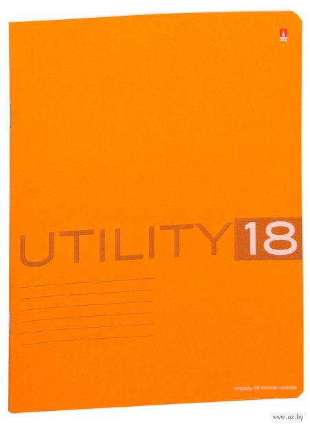 """Тетрадь в клетку """"Utility"""" (18 листов; в ассортименте) — фото, картинка"""