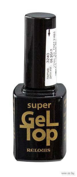 """Верхнее покрытие для ногтей """"Super Gel Top"""" — фото, картинка"""