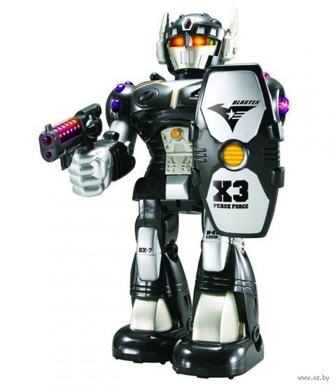 """Робот """"Черный воин"""" (со световыми эффектами) — фото, картинка"""
