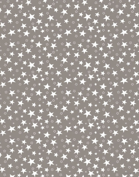 "Простыня хлопковая ""Stars Grey"" (210х220 см) — фото, картинка"
