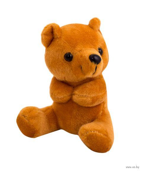 """Мягкая игрушка """"Мишка"""" (15 см; светло-коричневая) — фото, картинка"""