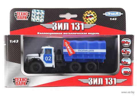 """Модель машины """"ЗИЛ 131. Полиция"""" (масштаб: 1/43)"""