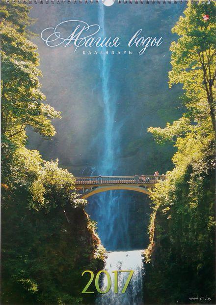"""Календарь настенный перекидной на 2017 год """"Природа. Магия воды"""""""