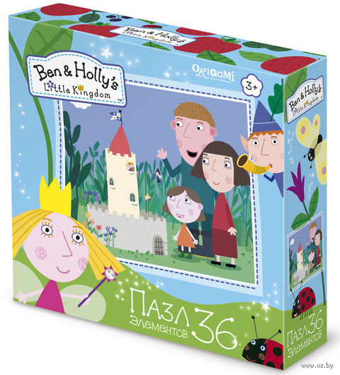 """Пазл """"Ben & Holly. Маленький замок"""" (36 элементов) — фото, картинка"""