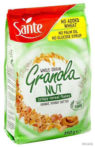 """Гранола """"Sante. С арахисом и арахисовой пастой"""" (350 г) — фото, картинка"""