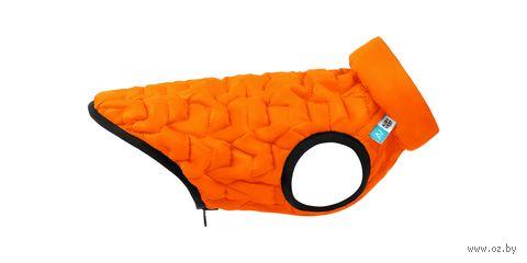 """Куртка """"Uni"""" (28 см; оранжево-черная) — фото, картинка"""