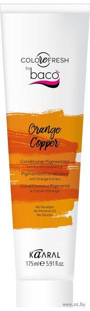 """Оттеночный кондиционер для волос """"С экстрактом апельсина"""" тон: orange copper — фото, картинка"""