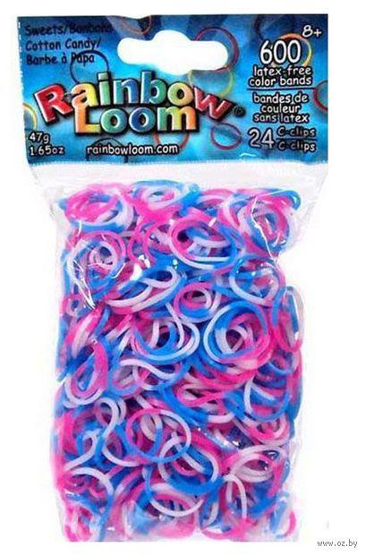 """Набор резиночек для плетения """"Rainbow Loom. Сладкая вата"""""""