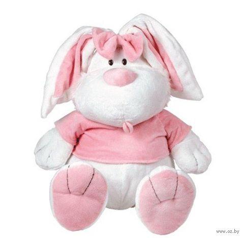 """Мягкая игрушка """"Кролик белый сидячий"""" (40 см)"""