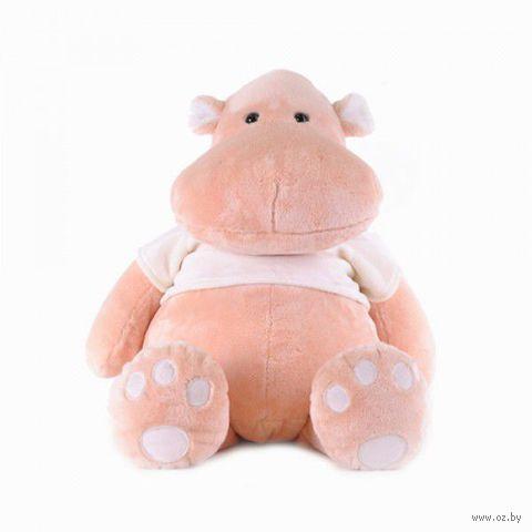 """Мягкая игрушка """"Бегемот Персик"""" (56 см)"""