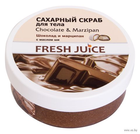 "Скраб для тела ""Шоколад и марципан"" (225 мл) — фото, картинка"