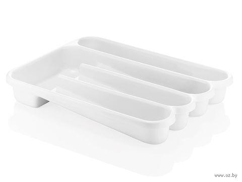 """Органайзер для столовых приборов """"Forme Casa"""" (белый) — фото, картинка"""