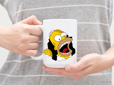 "Кружка ""Симпсоны. Гомер"" (арт. 545) — фото, картинка"