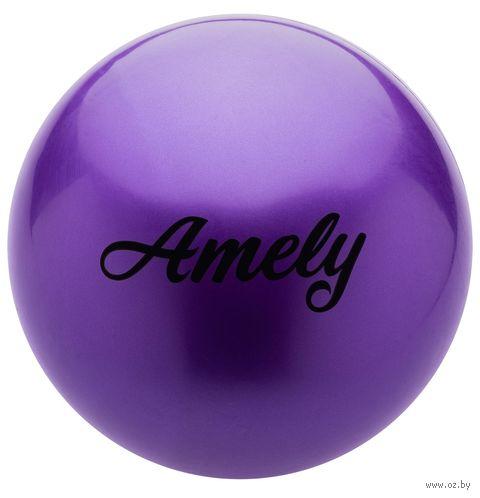 Мяч для художественной гимнастики AGB-101 (15 см; фиолетовый) — фото, картинка