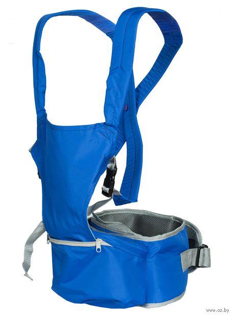 """Хипсит-рюкзак """"Непоседа"""" (синий) — фото, картинка"""