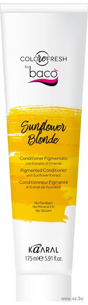 """Оттеночный кондиционер для волос """"С экстрактом подсолнечника"""" тон: sunflower blonde — фото, картинка"""