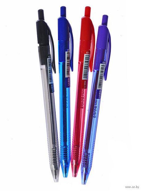 """Ручка шариковая черная """"Ultra Glide Technology U-28""""  (1,0 мм; в ассортименте)"""