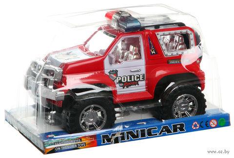 Полицейская машина инерционная (арт. 8805/06/07)