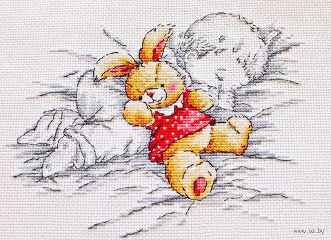 """Вышивка крестом """"Сладкий сон"""" (200x180 мм) — фото, картинка"""