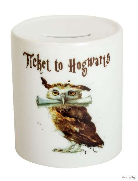 """Копилка """"Ticket to Hogwarts"""" (арт. 724) — фото, картинка"""