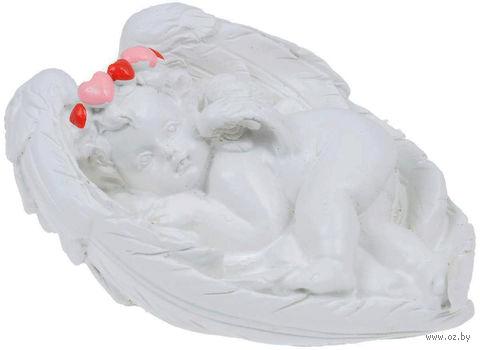 """Статуэтка декоративная """"Ангел на крыльях любви"""" — фото, картинка"""