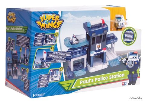 """Игровой набор """"Полицейский пункт Пола"""" — фото, картинка"""