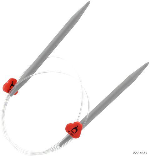 Спицы гибкие для вязания (пластик; 9 мм; 60 см) — фото, картинка
