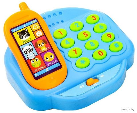 "Развивающая игрушка ""Телефон. Милашки"" — фото, картинка"