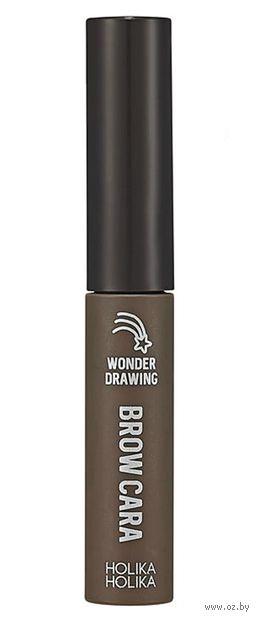 """Тушь для бровей """"Wonder Drawing 1 Sec Finish Browcara"""" тон: 05, пепельно-коричневый — фото, картинка"""