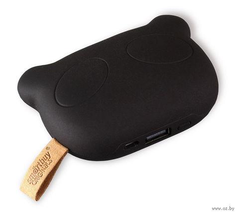 Внешний аккумулятор (Power bank) SmartBuy PANDA RULES, 5200 мАч, черный (SBPB-8000)