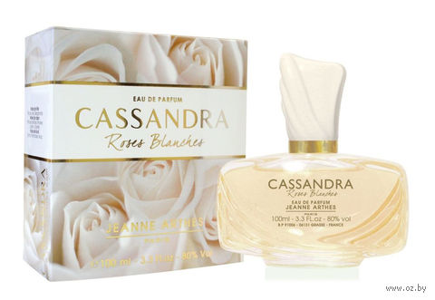 "Парфюмерная вода для женщин ""Cassandra. Roses Blanches"" (100 мл) — фото, картинка"