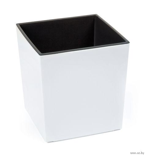 """Кашпо """"Juka"""" (30х30х30 см; белое) — фото, картинка"""