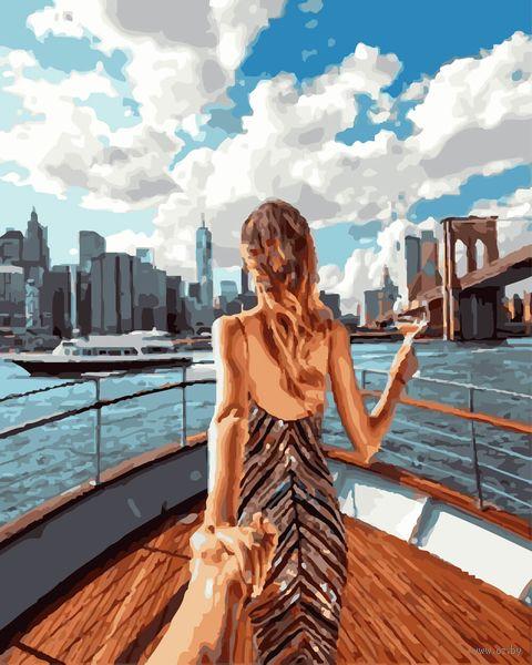 """Картина по номерам """"Следуй за мной. Яхта"""" (400х500 мм) — фото, картинка"""